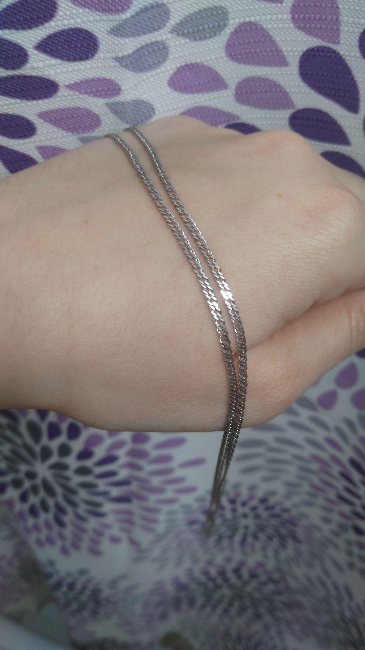 Крепкая и блестящая цепь
