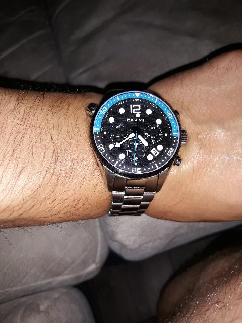 Хорошие часы ,тяжелые , браслет толстый крепкий нетолько на вид. рекомендую