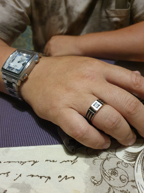 Отличное кольцо для мужа!