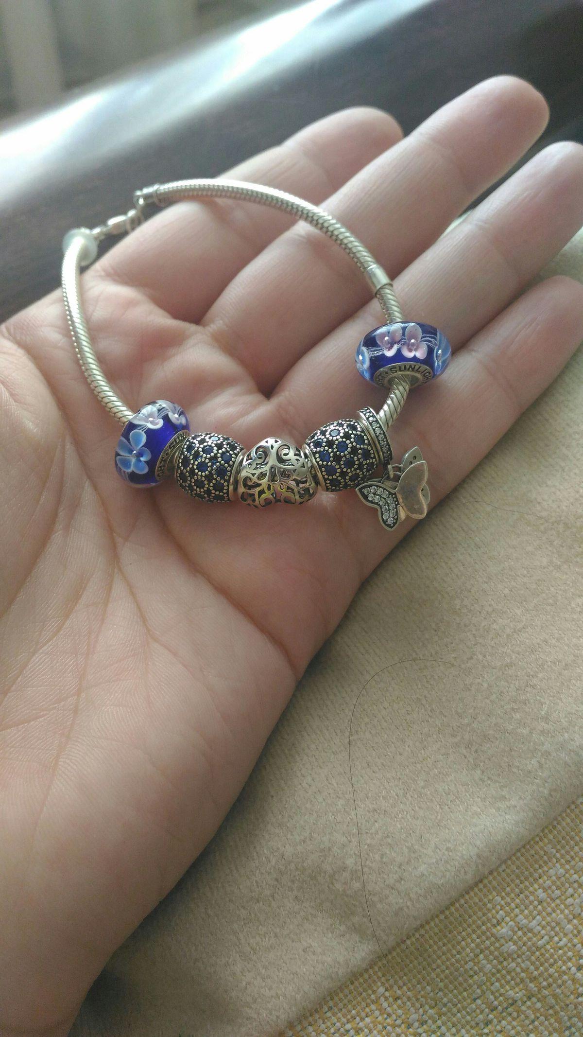 Синие шармики