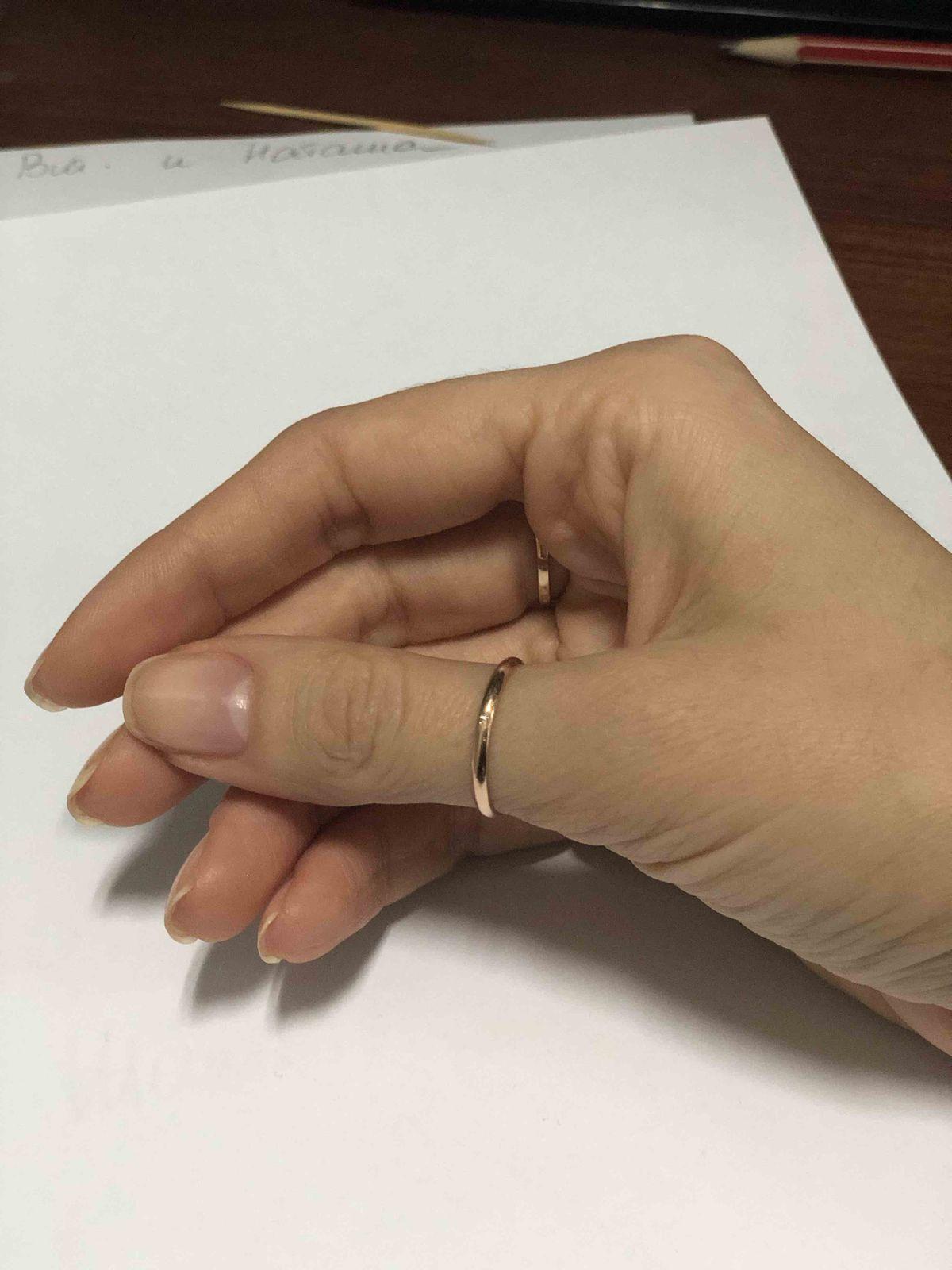 Красивое простое кольцо