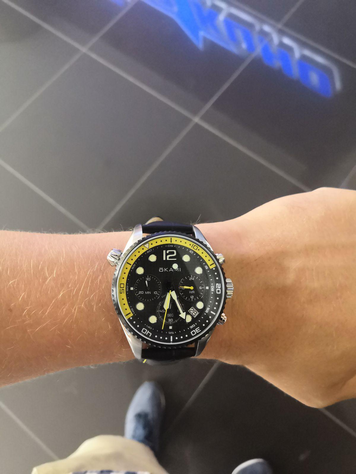 Часы Okami!