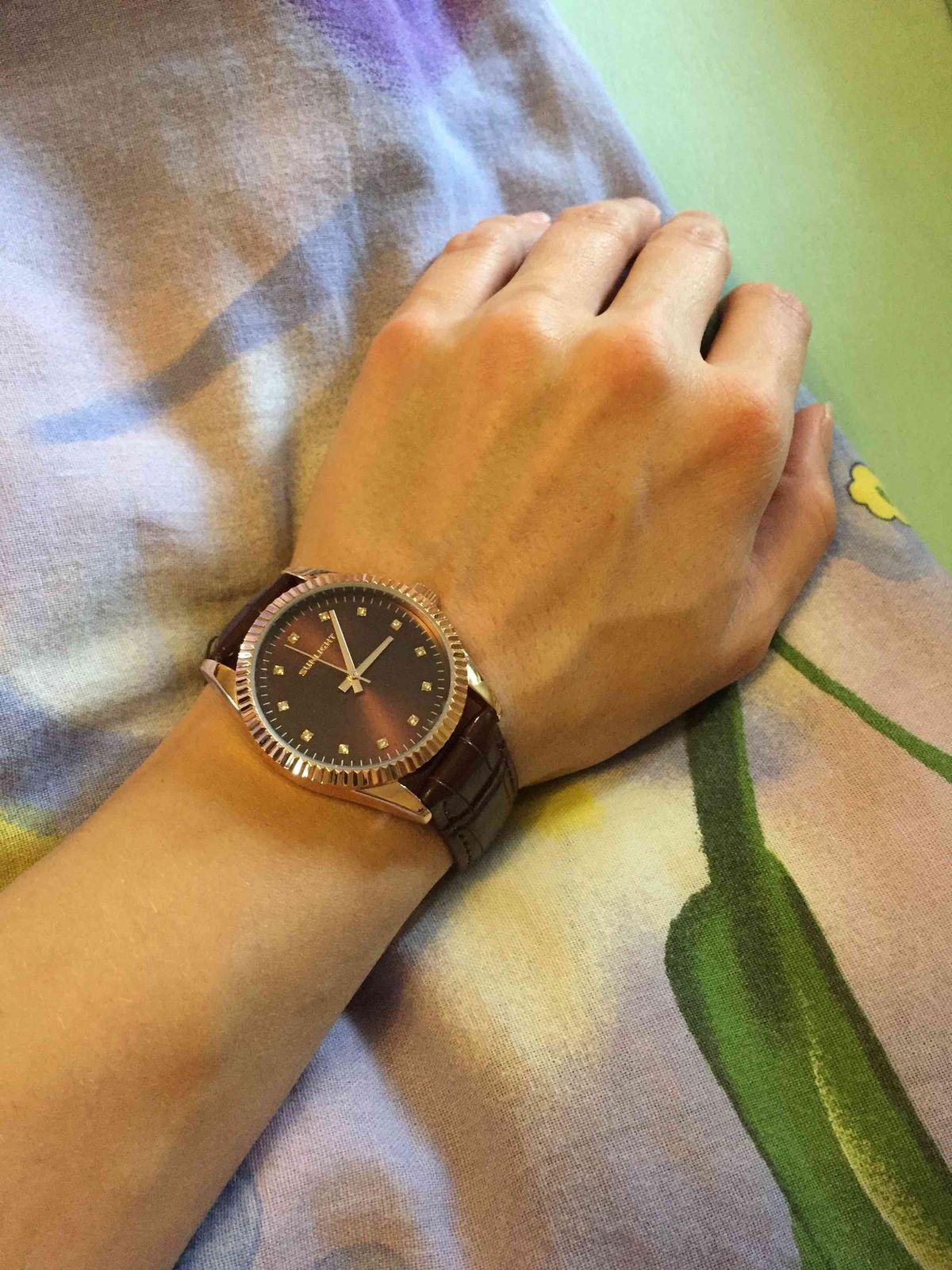 Кожаные часы
