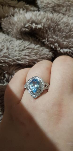 Шикарное кольцо для любимой жены