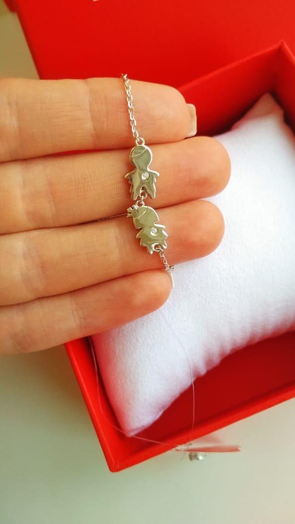Высококачественный ,серебряный браслет.