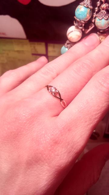 Кольцо для милых дам