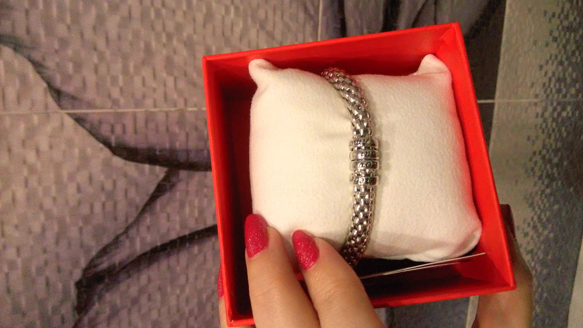 Браслет серебро с эмалью