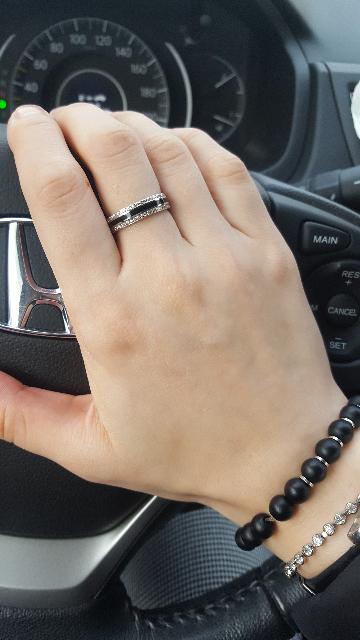 Стильное классическое кольцо!