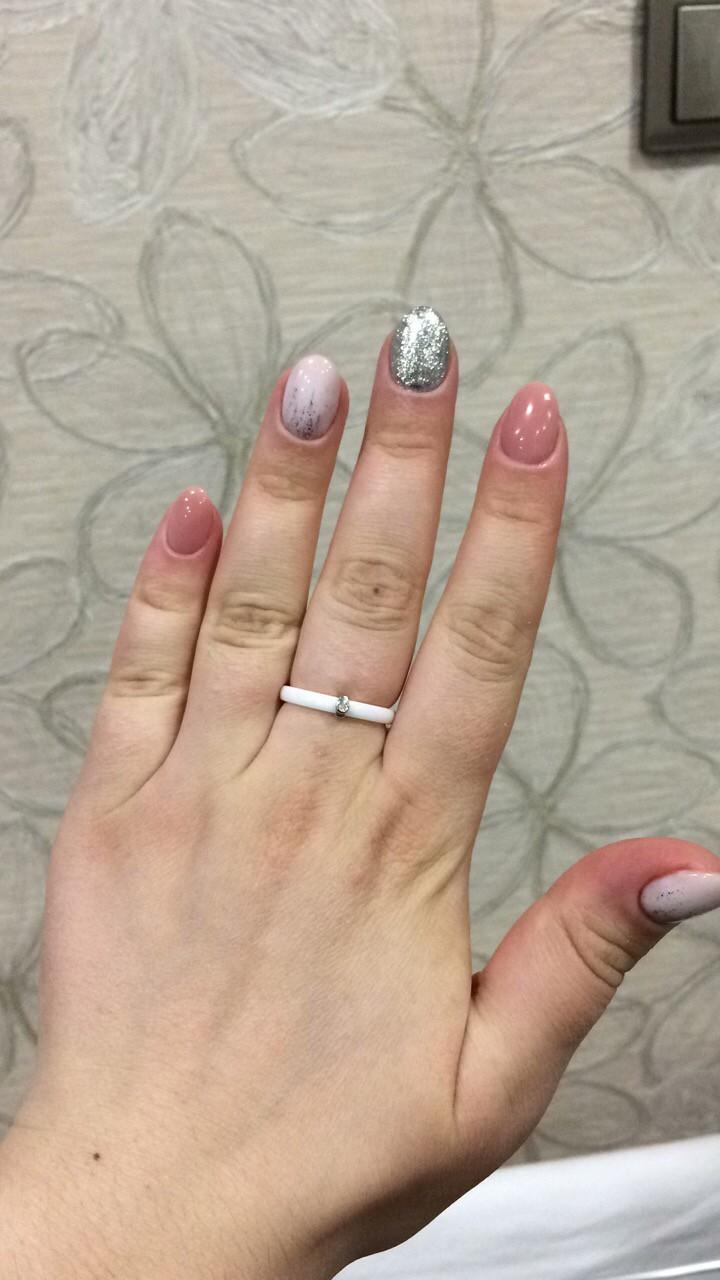 Нежное керамическое кольцо