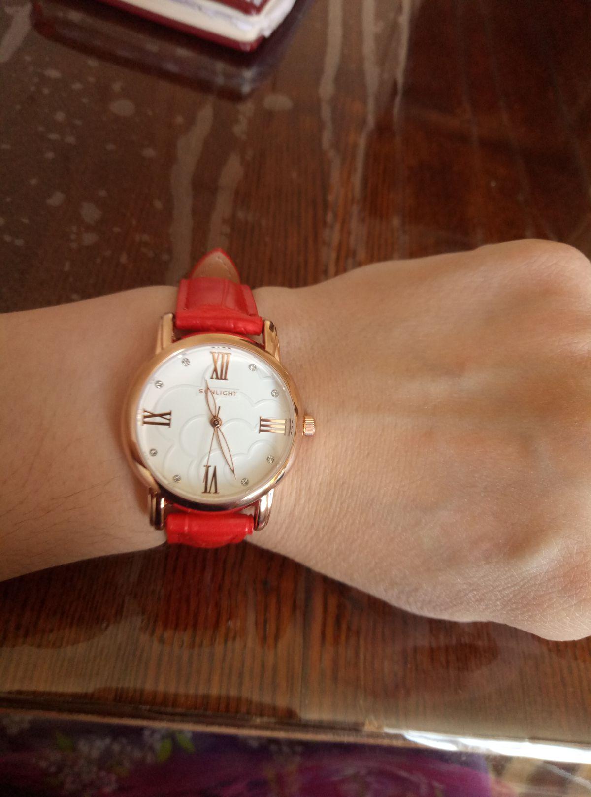 Часики супер! довольна покупкой.