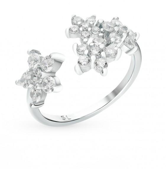 Серебряное кольцо с фианитами (Подробнее: https://sunlight.net/profile/orders/)