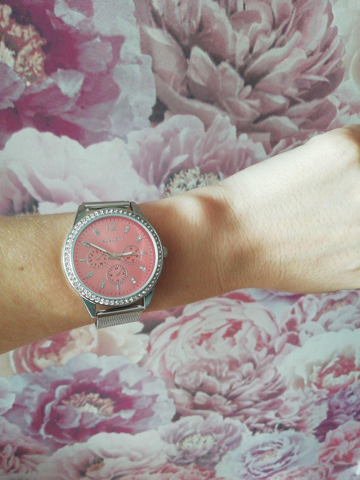 Часы с железным ремешком